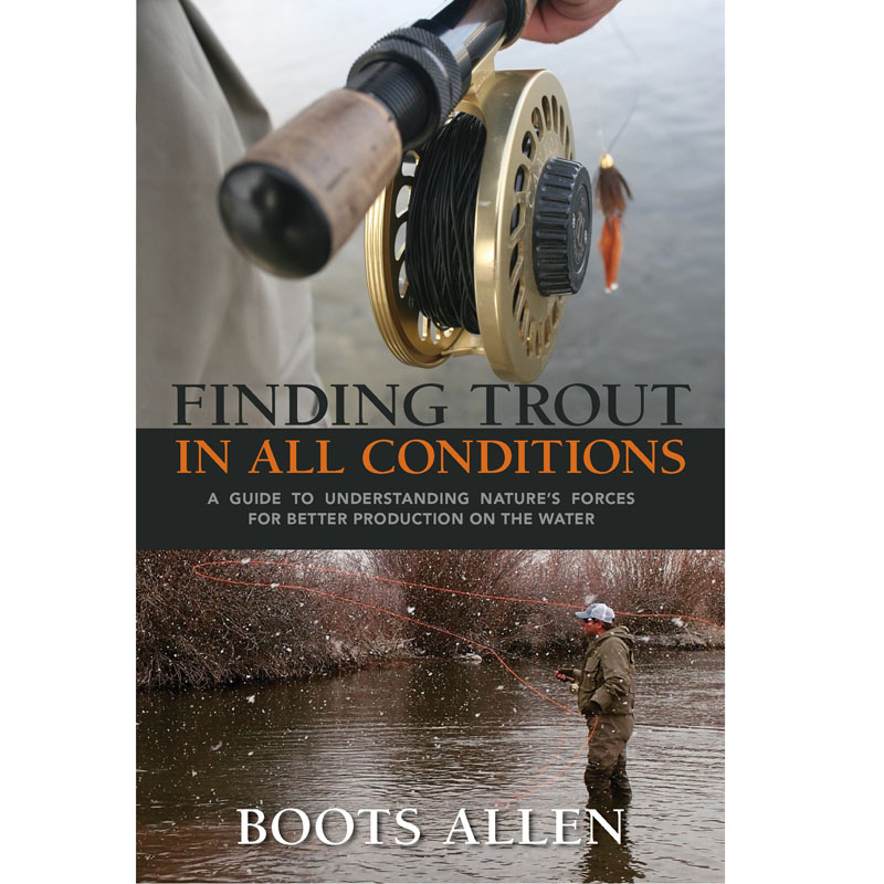 Livro Finding Trout in All Conditions (Boots Allen)