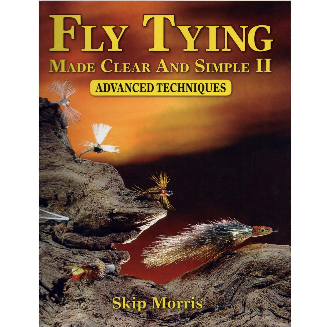 Livro Fly Tying Made Clear and Simple II: Advanced Techniques (Skip Morris)