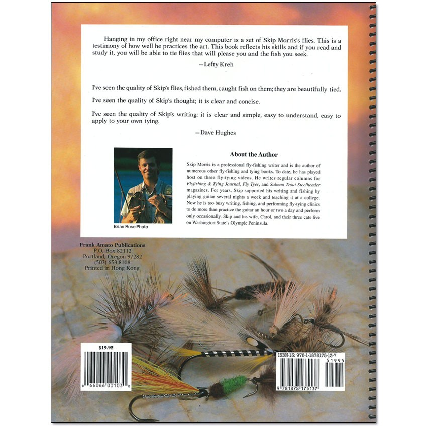 Livro Fly Tying Made Clear and Simple (Skip Morris)