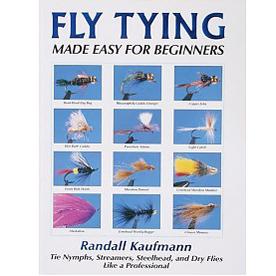 Livro Fly Tying Made Easy for Beginners (Randall Kaufmann)