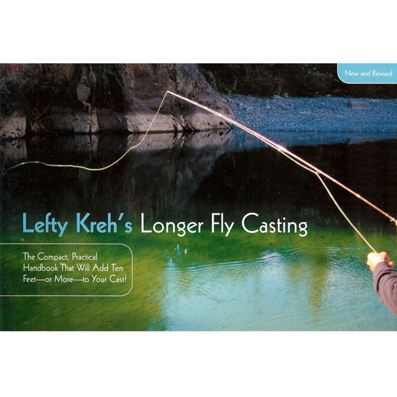 Livro Lefty Kreh's Longer Fly Casting (Lefty Kreh)