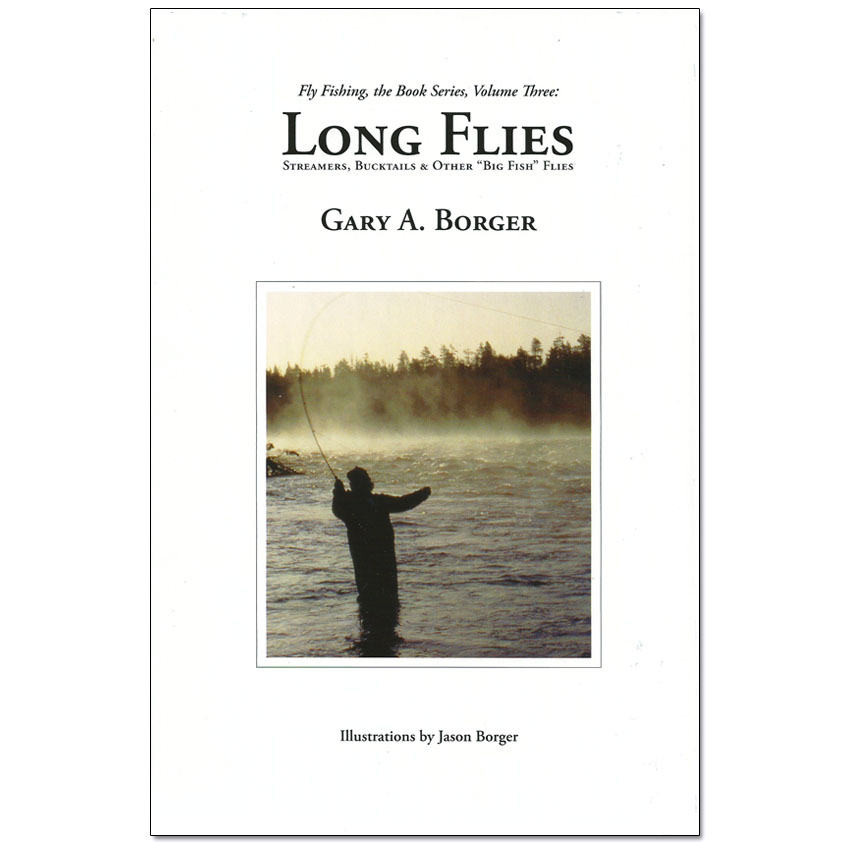 Livro Long Flies (Gary A. Borger)