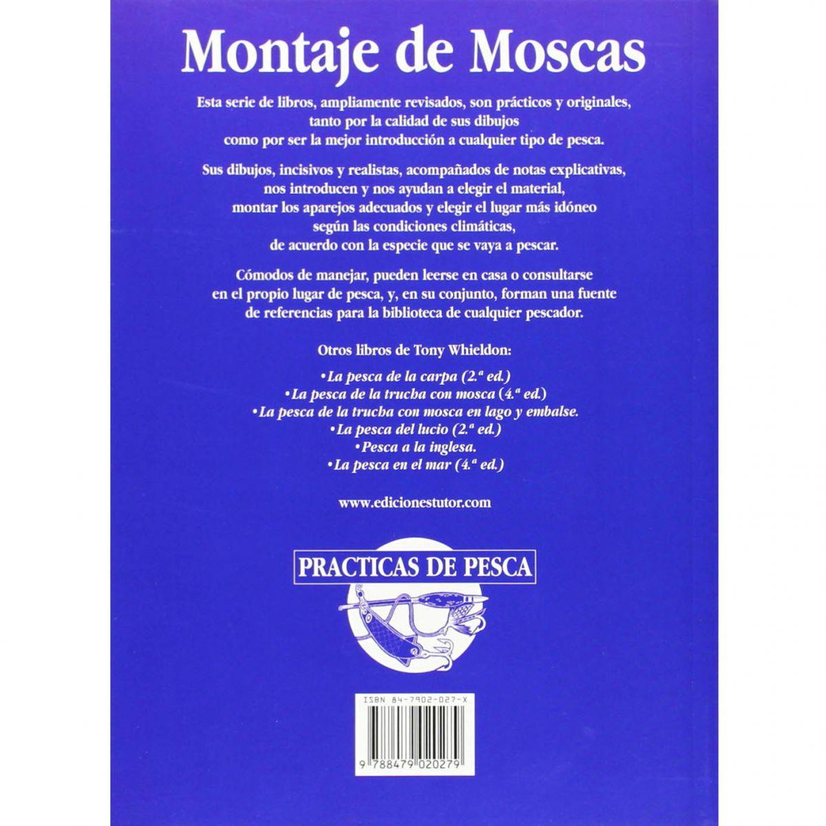 Livro Montaje de Moscas (Tony Whieldon)