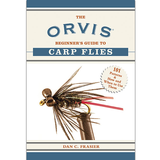Livro Orvis Begginer's Guide to Carp Flies (Dan C. Frasier)