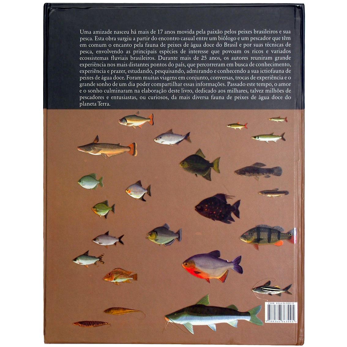 Livro Peixes Fluviais do Brasil (Alec Zeinad e Rubinho Prado)
