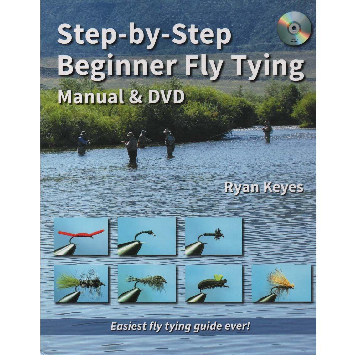 Livro Step-by-Step Beginner Fly Tying com DVD (Ryan Keyes)