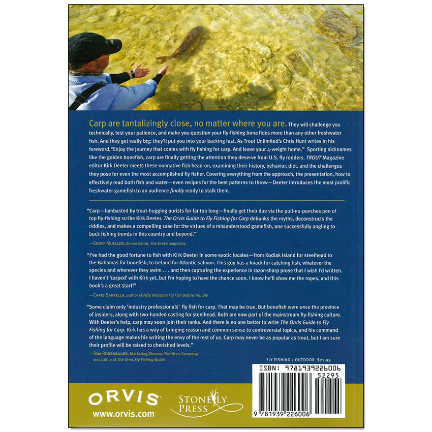 Livro The Orvis Guide to Fly Fishing For Carp (Kirk Deeter)