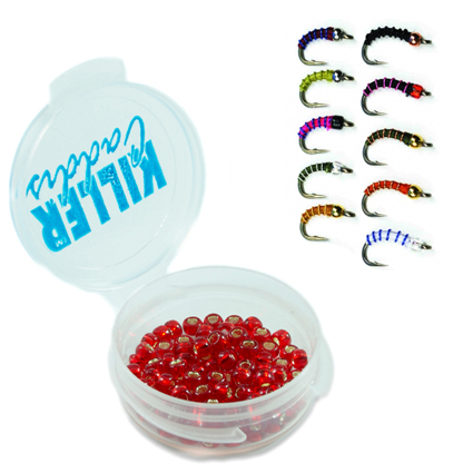 Miçangas Killer Caddis Glass Beads