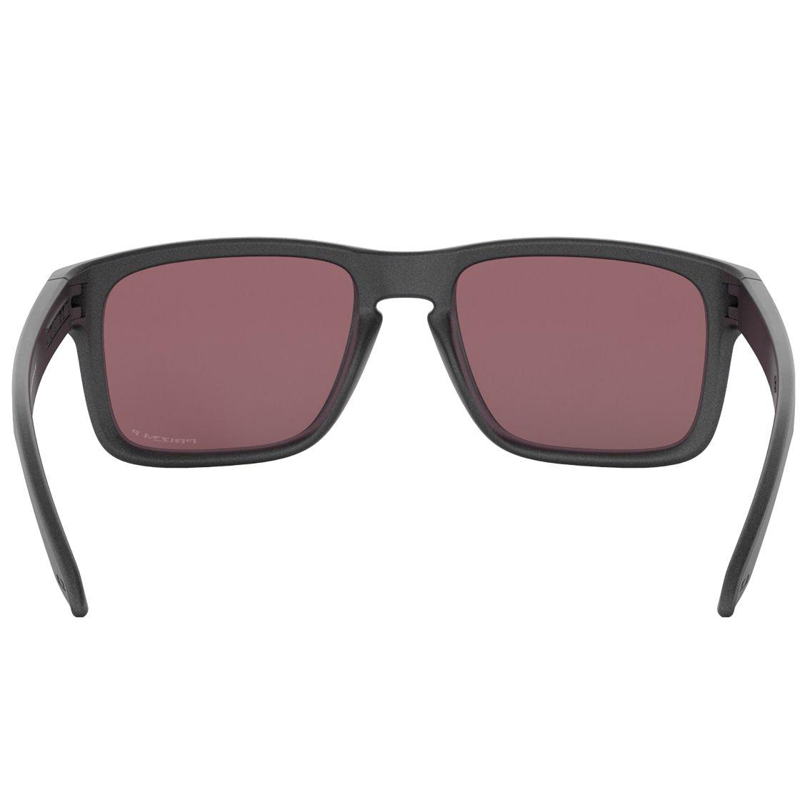 Óculos Polarizado Oakley Holbrook Steel Prizm Daily