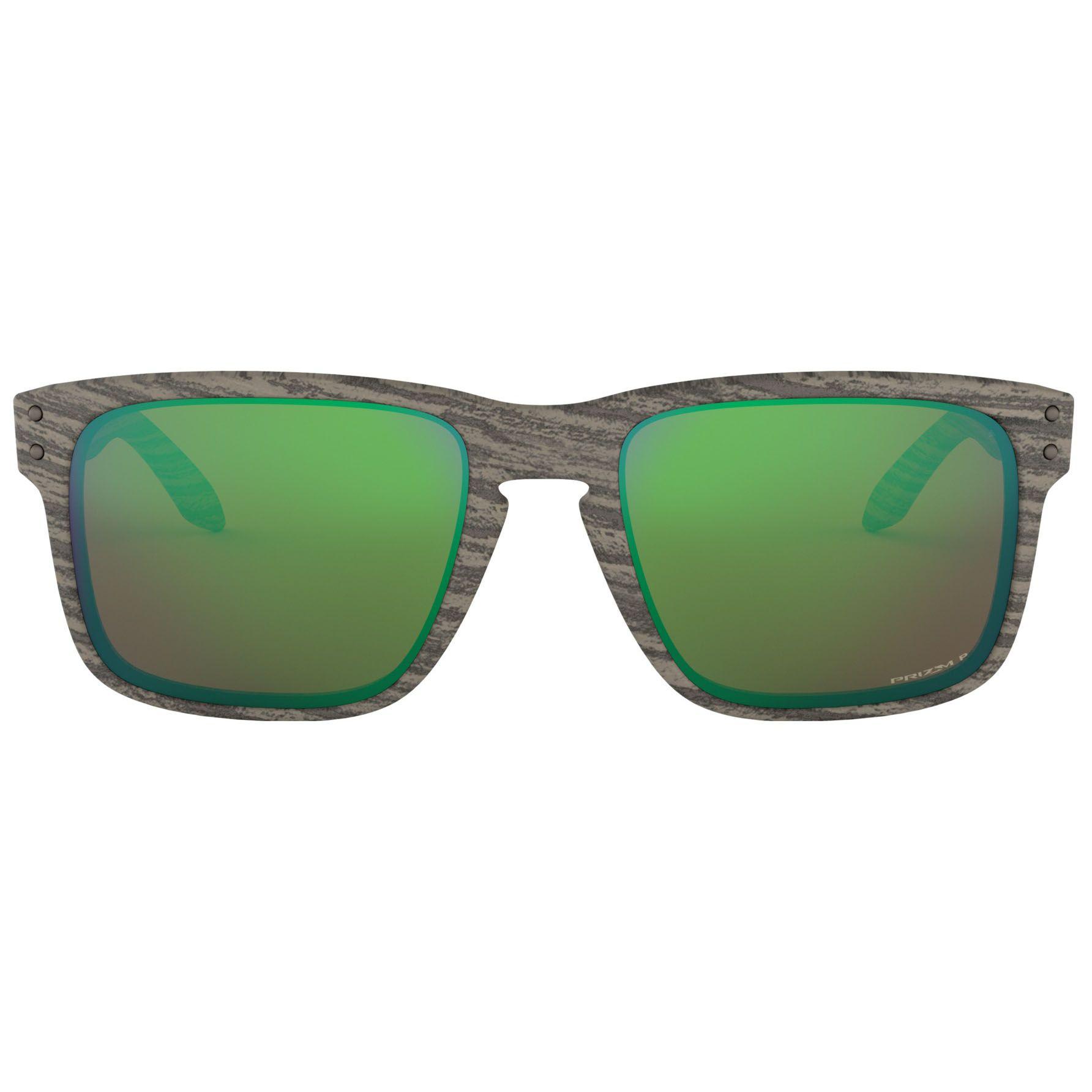 Óculos Polarizado Oakley Holbrook Woodgrain Prizm Shallow Water