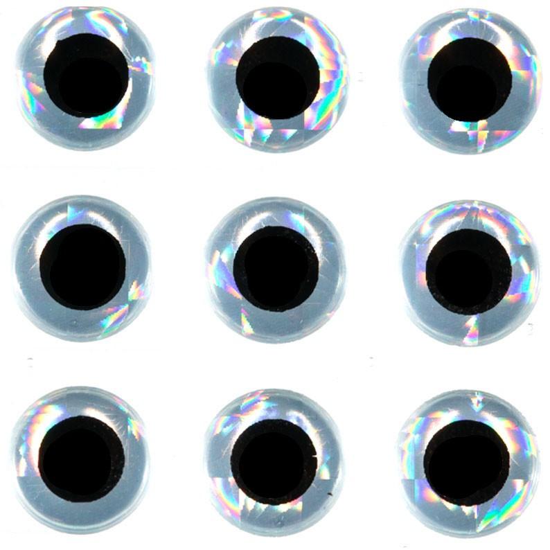 Olhos 3D Flypesca (30un)