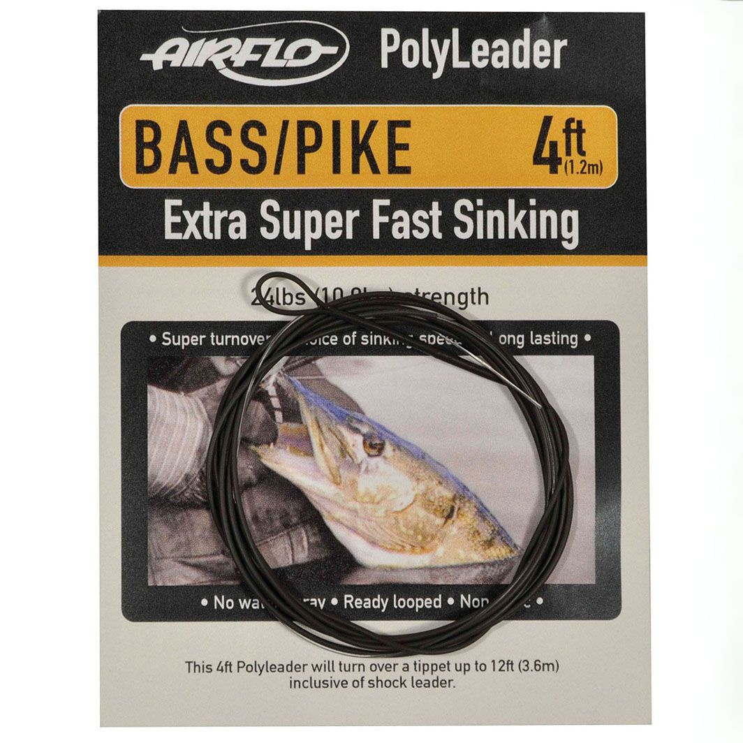 Polyleader Airflo Bass Pike 4' (Extra Super Fast Sinking)
