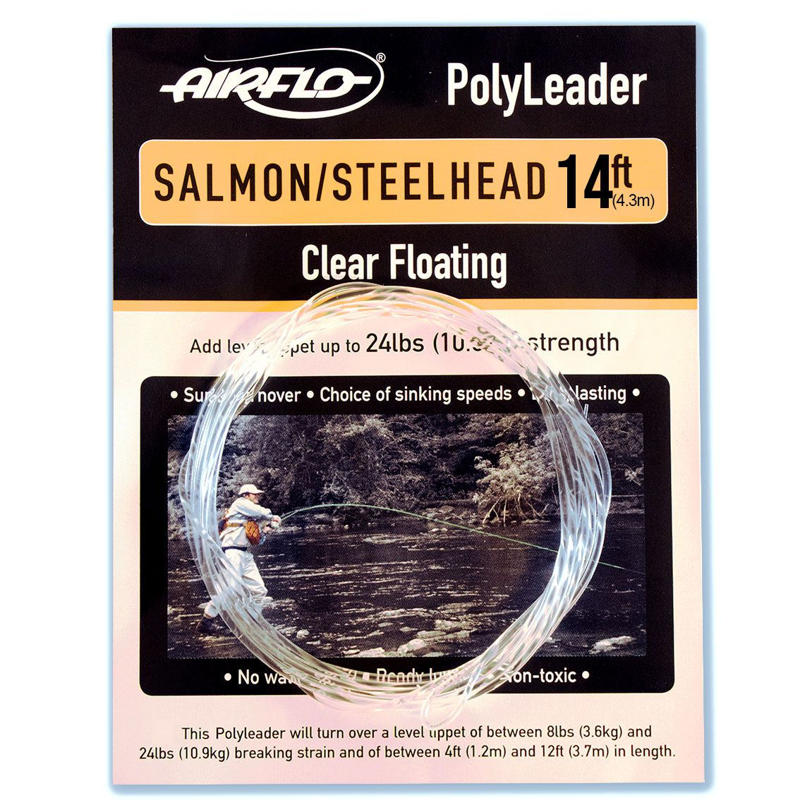 Polyleader Airflo Salmon Steelhead 14' (Floating)