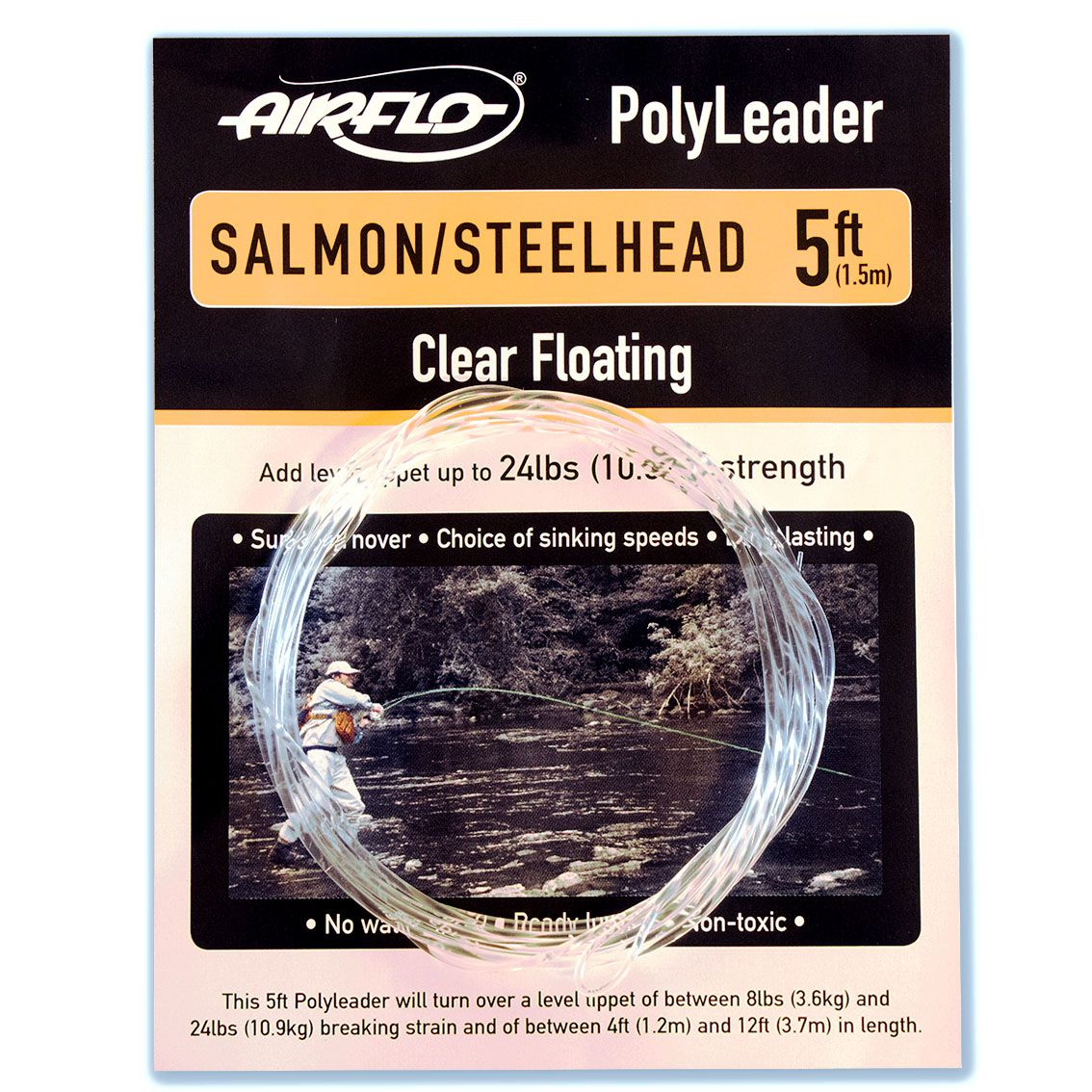 Polyleader Airflo Salmon Steelhead 5' (Floating)