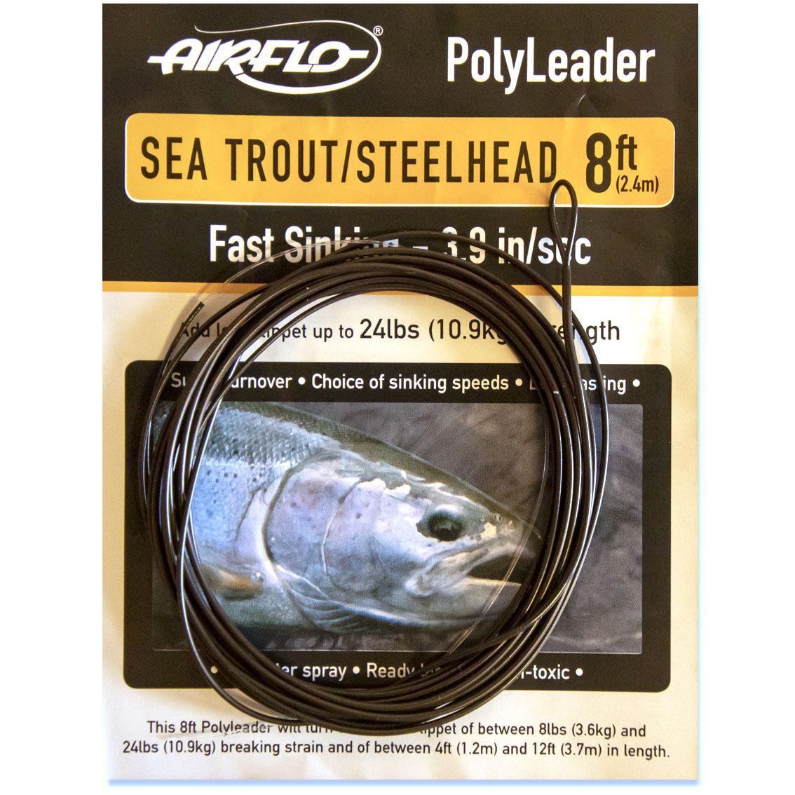 Polyleader Airflo Sea Trout Steelhead 8' (Fast Sinking)