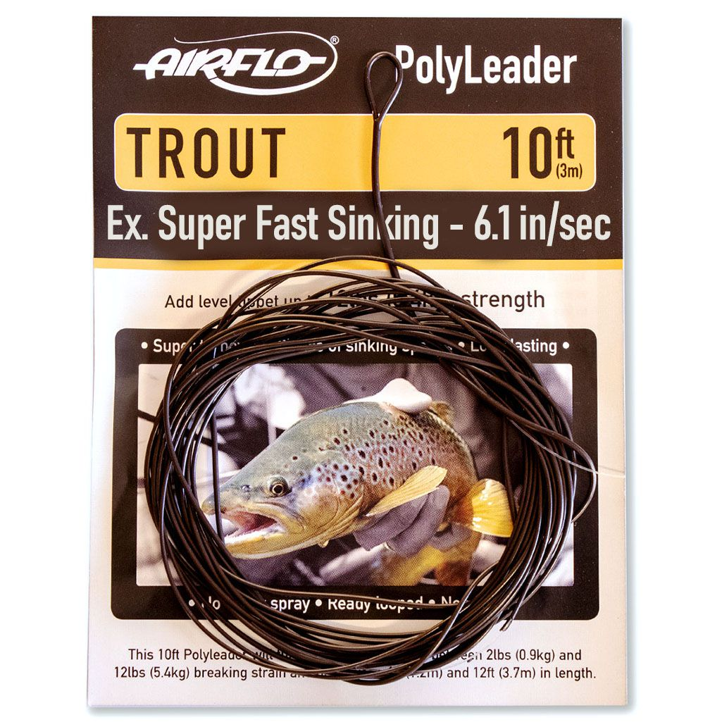 Polyleader Airflo Trout 10' (Extra Super Fast Sinking)