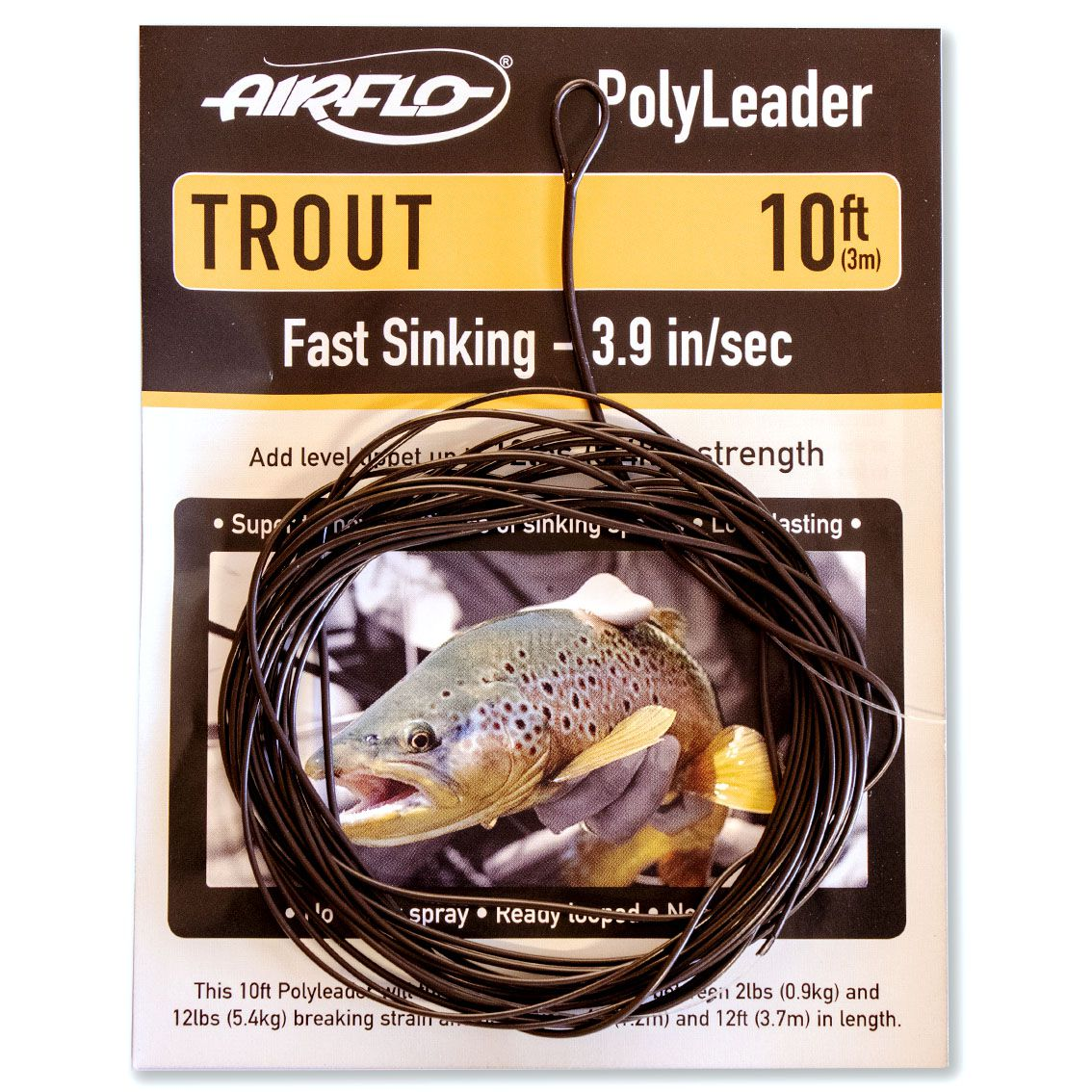 Polyleader Airflo Trout 10' (Fast Sinking)