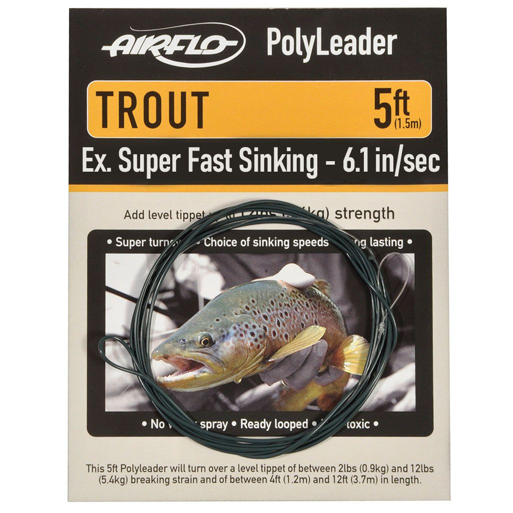 Polyleader Airflo Trout 5' (Extra Super Fast Sinking)
