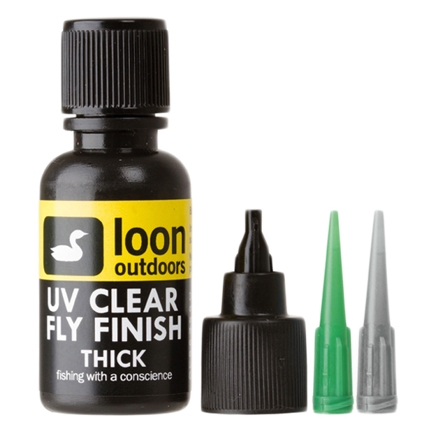 Resina UV Grossa Loon Outdoors UV Clear Fly Finish Thick (1/2oz)