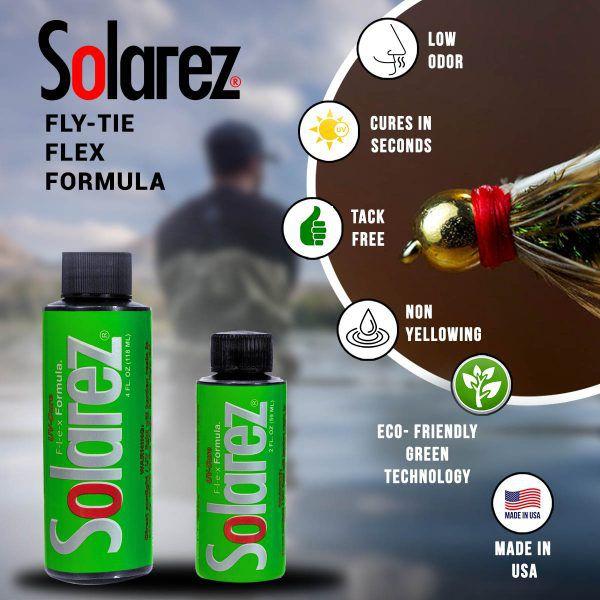 Resina UV Solarez Flex (Flexível)
