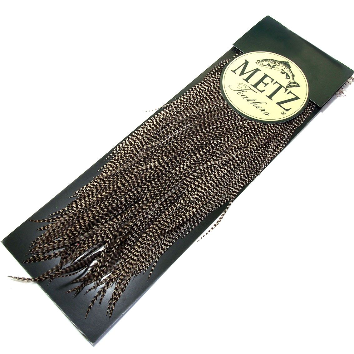 Saddle Metz Micro Barb Grade #2 (para Secas) 15 Penas