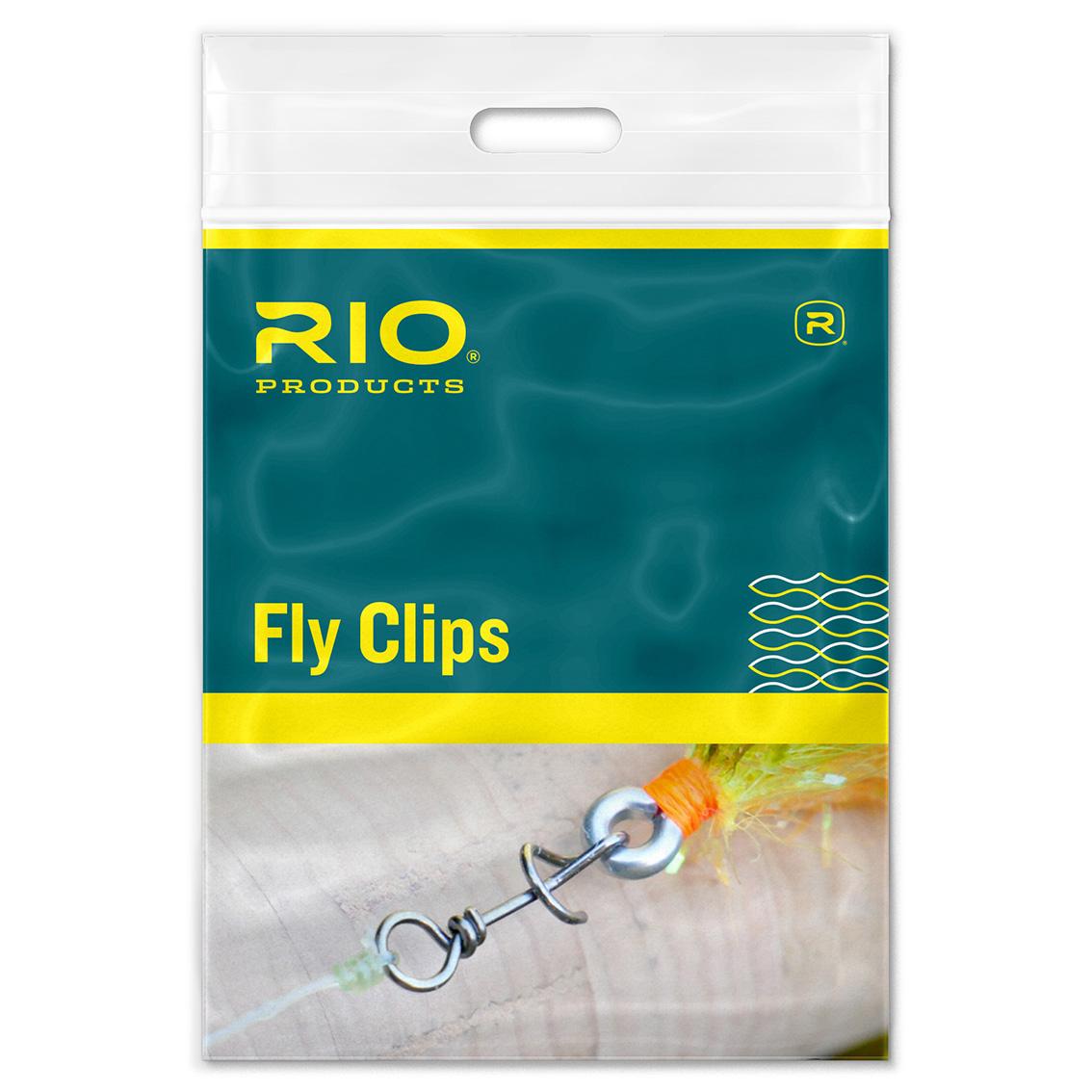 Snap para Moscas RIO Twist Clips (10un)