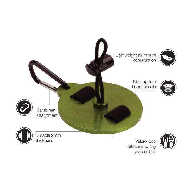 Suporte para Tippet Loon Outdoors Tippet Stack
