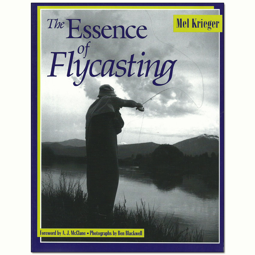 Livro The Essence of Flycasting (Mel Krieger)