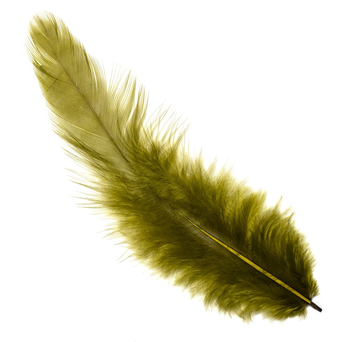 White Matuka Soft Hackle Wapsi
