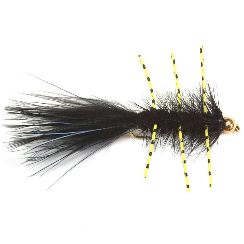 Wooly Bugger Rubber Legs Bead Head