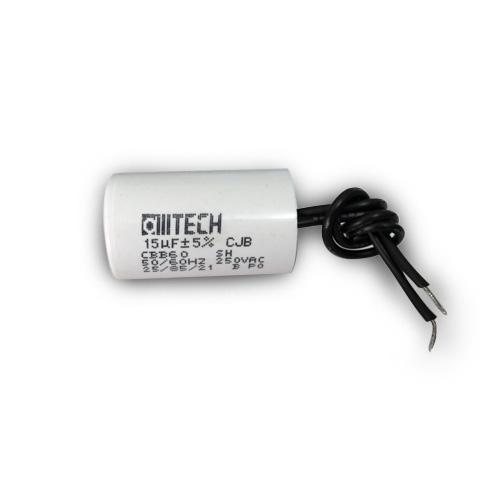Capacitor de partida 15uF x 250