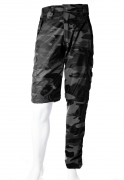 Calça-Bermuda Camuflada Urbano Black UltraLight Masculina