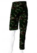 Calça-Bermuda Camuflada Exército Brasileiro UltraLight Masculina