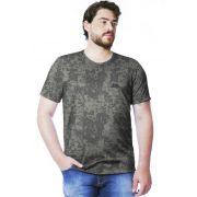 Camiseta Camuflada Digital ACU Manga Curta Masculina