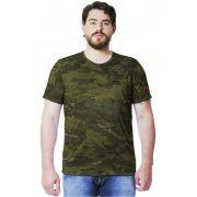 Camiseta Camuflada Multicam Tropical Manga Curta Masculina