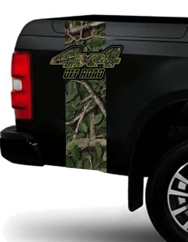 Adesivo 4x4 Off-Road Para Todos os Modelos de Caminhonetes e Jeeps  - REAL HUNTER