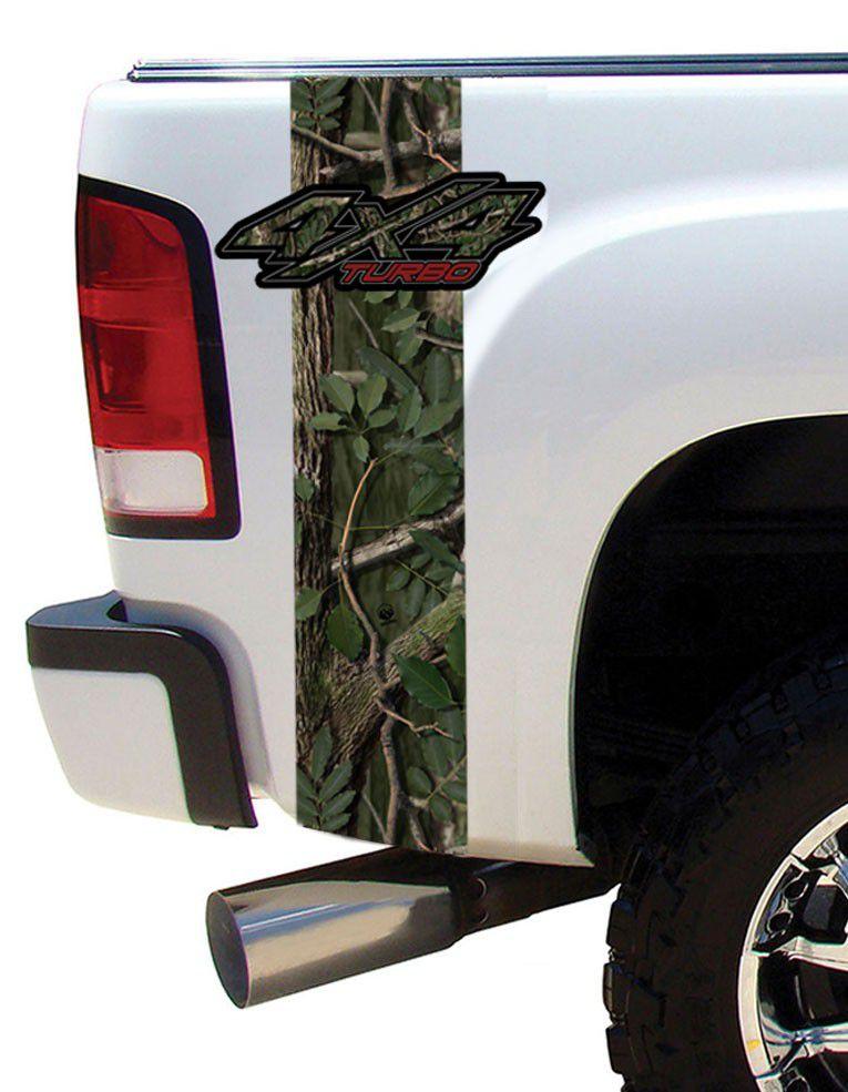 Adesivo 4x4 Turbo Para Todos os Modelos de Caminhonetes e Jeeps  - REAL HUNTER OUTDOORS