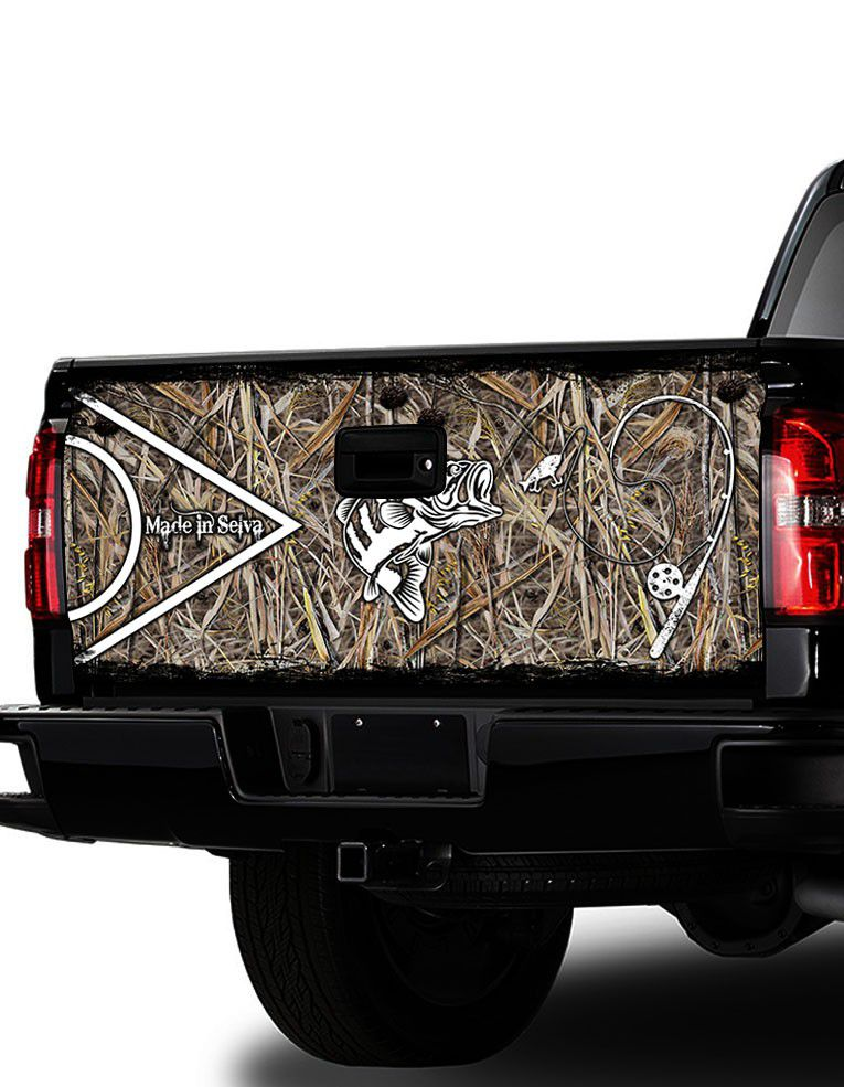Adesivo de Tampa Traseira F-250, Ram 2500   - REAL HUNTER OUTDOORS