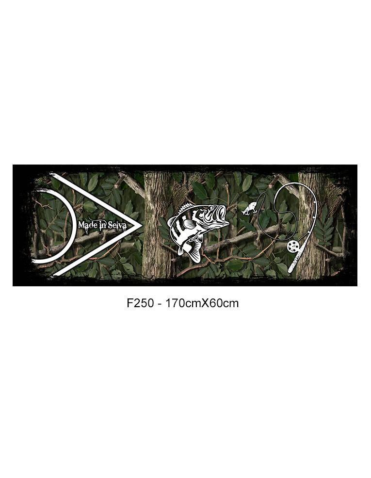 Adesivo de Tampa Traseira F-250, Ram 2500   - REAL HUNTER