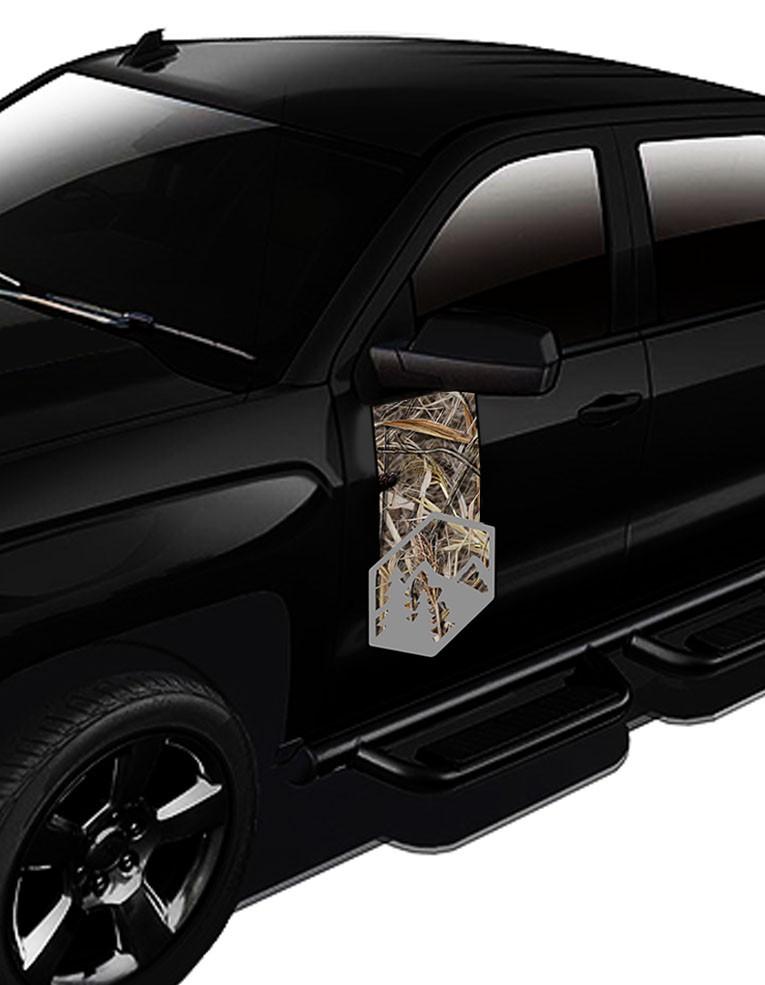 Adesivo Lateral Porta Para Todos os Modelos de Caminhonetes e Jeeps  - REAL HUNTER
