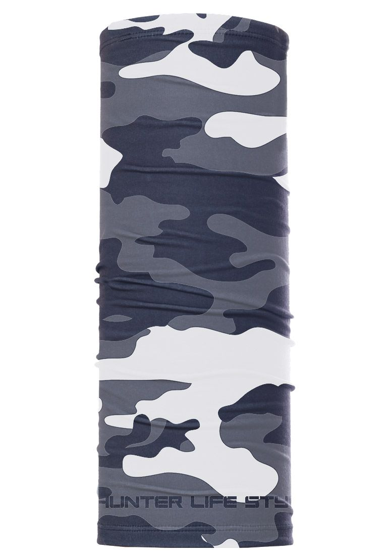 Bandana Tube neck Camuflado Urbano Black  - REAL HUNTER