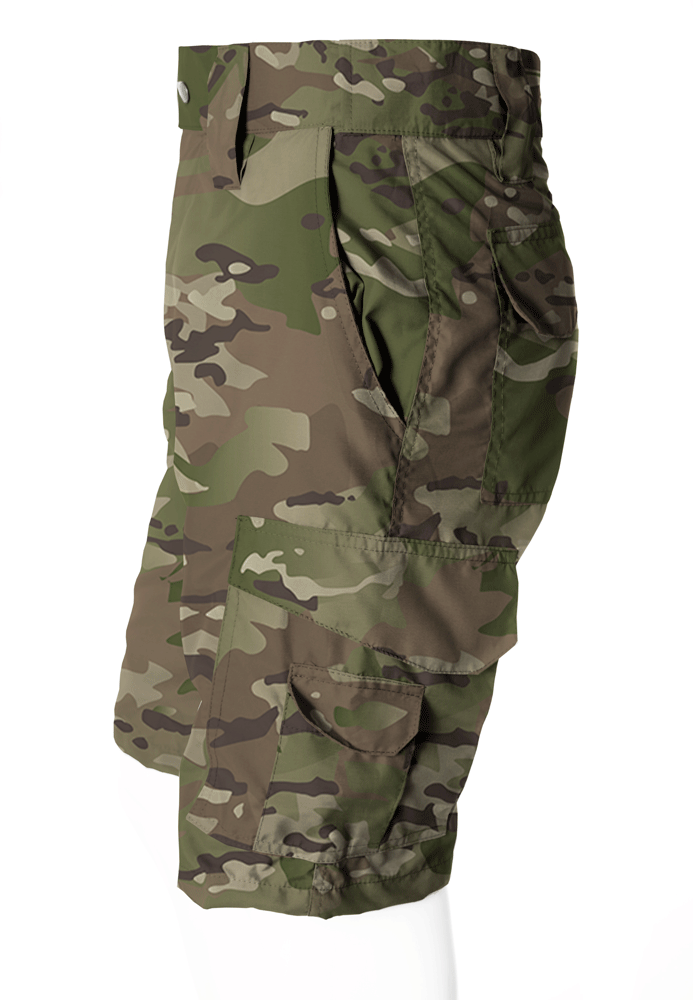 BERMUDA CAMUFLADA MULTICAM BRIM FLÚOR CARBON MASCULINA - REAL HUNTER OUTDOORS