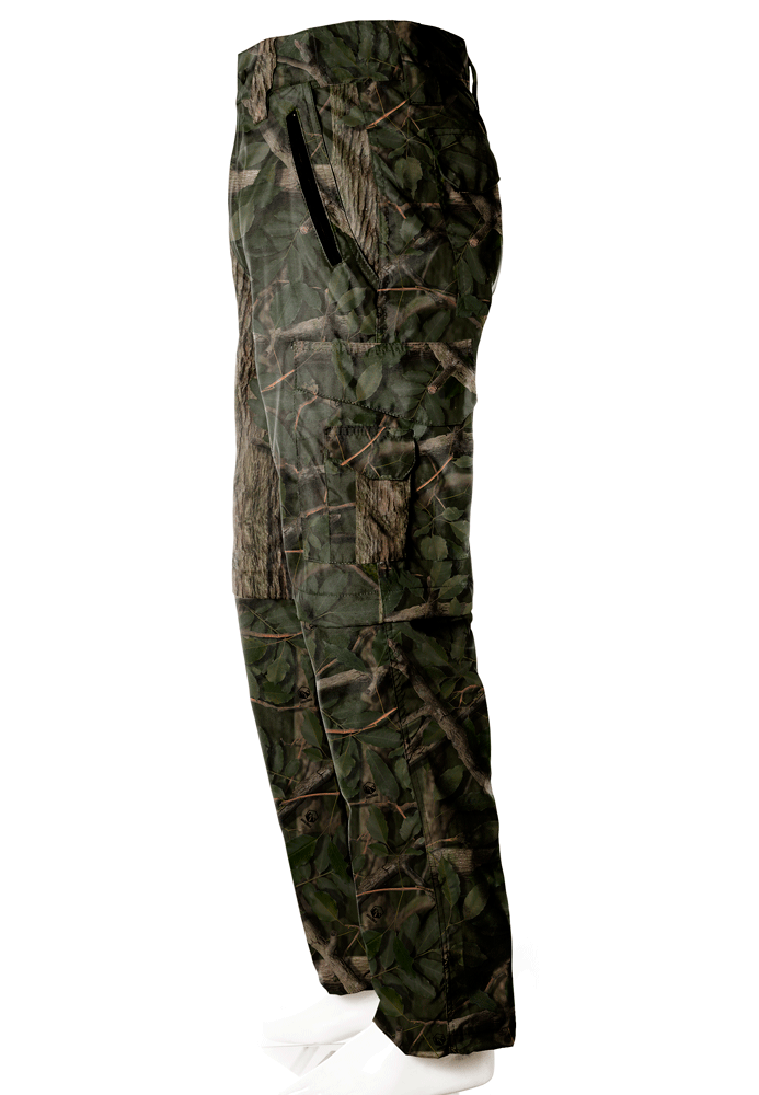 Calça-Bermuda Camuflada Amazônia UltraLight Masculina - REAL HUNTER OUTDOORS