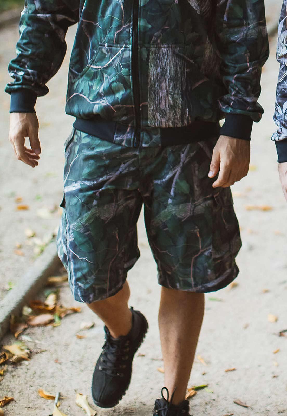 Calça-Bermuda Camuflada Amazônia UltraLight Masculina