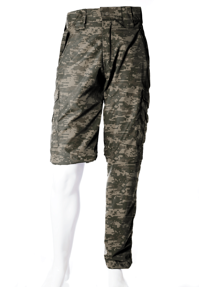 Calça-Bermuda Camuflada Digital ACU UltraLight Masculina  - REAL HUNTER OUTDOORS
