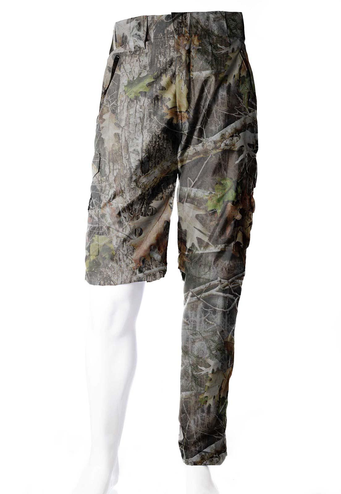 Calça-Bermuda Camuflada Realtree UltraLight Masculina  - Real Hunter