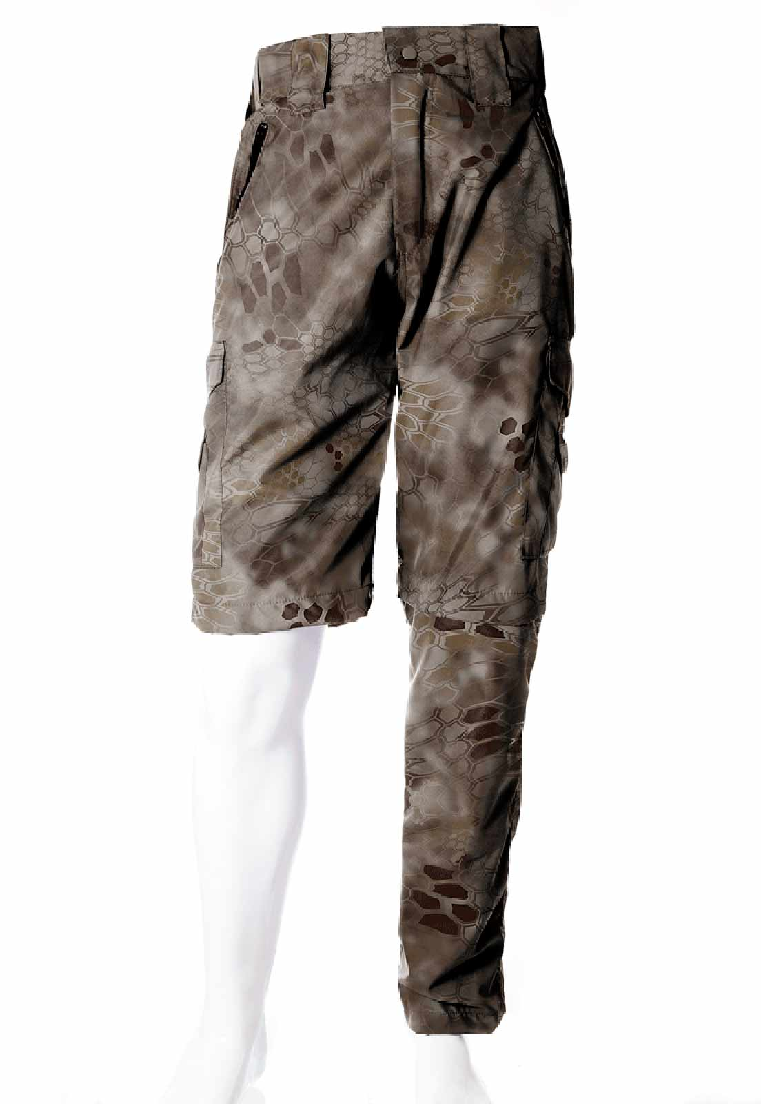 Calça-Bermuda Camuflada Kryptec Nomad UltraLight Masculina  - REAL HUNTER OUTDOORS