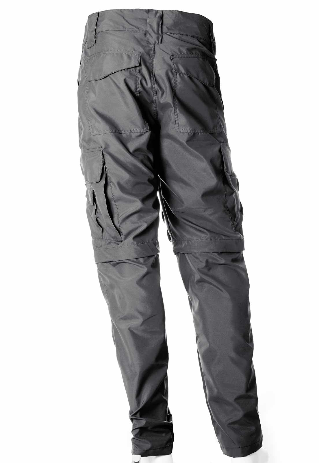 Calça-Bermuda Cores Cinza UltraLight Masculina  - REAL HUNTER OUTDOORS
