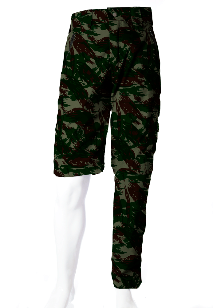afe5a85f72 Calça-Bermuda Camuflada Exército Brasileiro UltraLight Masculina ...