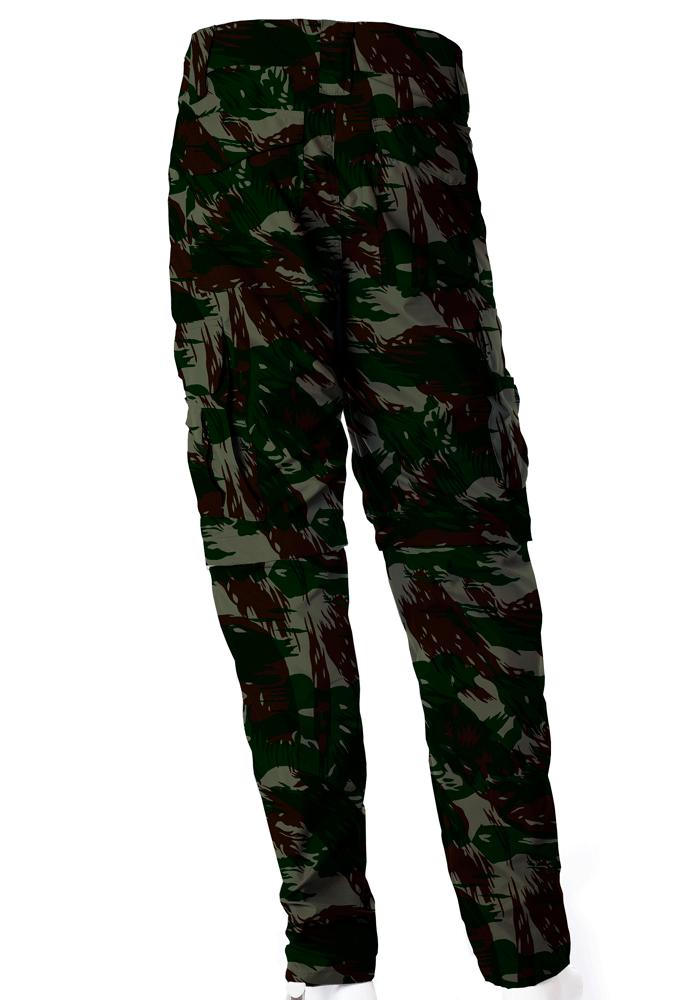 Calça-Bermuda Camuflada Exército Brasileiro UltraLight Masculina  - REAL HUNTER OUTDOORS